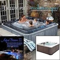 TRIUMPH EVOLUTION SPA 6 PERSON WITH 85 JETS