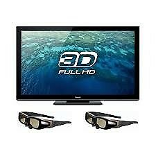 "50"" panasonic 3d tv need to sell asap for space"