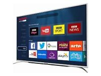 Sharp 43 Inch, Smart, Built in Wi-Fi TV, with Freeview HD excellent condition