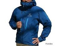Arcteryx Alpha SV jkt and Arcteryx Stinger pants also Rab