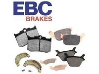 GENUINE EBC BRAKE PADS - HUGE RANGE AT TRADE PRICES FOR CARS AND MOTORCYCLES