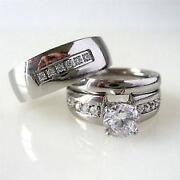 men and women wedding ring set - Men And Women Wedding Ring Sets