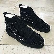 13b0eea92c074 Christian Louboutin Men s Suede spiked sneakers shoes not Giuseppe zanotti  balenciaga Gucci Yeezy