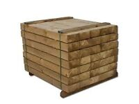 Timber Fencing Fence Posts Boards Rails (full range), Landscaping Sleepers - Can Delivery