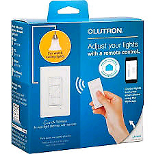 Lutron Caséta Wireless Dimmer Kit with Pico Remote Control