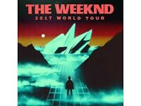 x2 The Weeknd tickets O2 Arena Wednesday 8th March