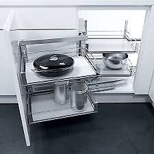VS COR Fold Frame Set 800mm LH Silver