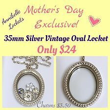Personalized Mother's Day Lockets
