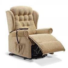 Electric recliner chair + three seater sofa & single chair
