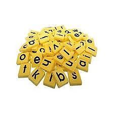 Scrabble Spares Letters Tiles Pouch Bag Rack Word Game Accessories Replacement