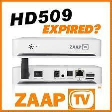 ZAAPTV Renewal Services. zaptv renewals 409 and 509 - 1,2 or 3 years