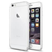 Iphone 6 16GB White, case, boxed earphones, USB cable.