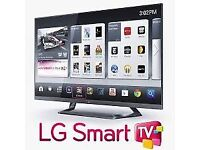 """42""""LG smart £230,price is negotiable guaranteed,need quick sale"""