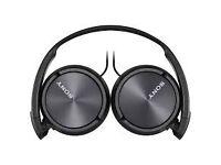 Foldable Sony headphones