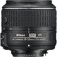NIKON 18-55mm VR II lens in mint condition