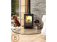 £1239 FITTED!!! Purefire 5kw Curve Multi-Fuel Woodburning Stove, Log Burner, Stoves.