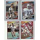 1984 Topps Football Card Complete Set