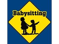 Weekend babysitting work wanted