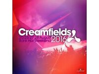 Creamfield Tickets - 3 Day Standard Camping Tickets (Friday to Sunday)
