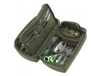 TRAKKER PVA POUCH AND BUZZ BAR BAG-TWO ITEMS FOR SALE.