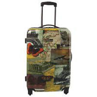 """Brand new National Geographic 24"""" 4-Wheeled Spinner Luggage"""
