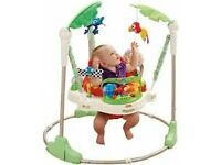 Fisherprice Rainforest Jumperoo baby bouncer