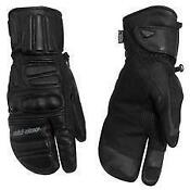 Ski Doo Leather Gloves