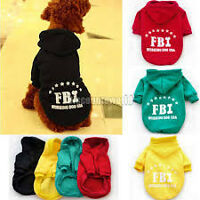 Extra Small Dog Hoody Sweat jacket