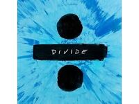 2 x standing Ed Sheeran Tickets for sale, London 02, 3rd May 2017