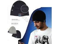 beenie hat headphones bluetooth
