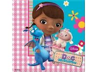 Doc McStuffins Childrens Party Table Ware Brand New