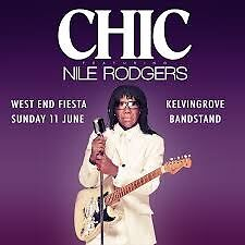 2 tickets £100 West End Fiest-Chic ft Nile Rodgers