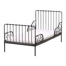 Childrens twin iron bed from ikea