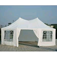 White tents for rent by Save the Date - Events & Decor