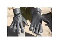 Vintage leather gloves 1984 - 7 packs sealed, free courier