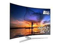 55'' CURVED SAMSUNG 4K HDR 1000 LED TV 2017 MODEL UE55MU9000. FREE DELIVERY/SETUP