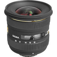 Sigma 10-20mm f4-5.6 Lens for CANON