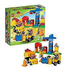LEGO DUPLO 10518 My First Construction Site Complete Set with Box