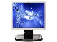 "HP 1740 17"" WIDESCREEN MONITOR, FULLY TESTED WITH 6 MONTHS WARRANTY & CABLES - VGC - PC - LAPTOP"