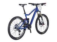 Full sus mountain bike