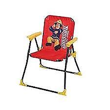 Fireman Sam chair