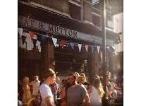Head Bartender needed for Broadway Market's Cat and Mutton.