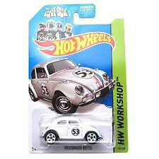 Love bug hot wheels