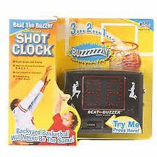 """Beat The Buzzer"" Shot Clock Game"