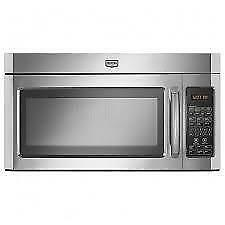 30'' Stainless steel over-the-range microwave oven by Maytag
