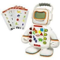Alphie the teaching robot toy