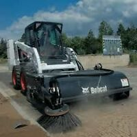 Landscaping, Potholes, irrigation , Parking lot sweeping BobCats