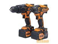 Triton Twin Pack T20 Combi Hammer Drill & Impact Driver