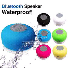 Wireless Bluetooth speaker.  Waterproof