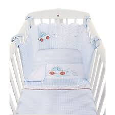 Like NEW, Mothercare, Beep-Beep Crib Bedding+Matching Mobile.